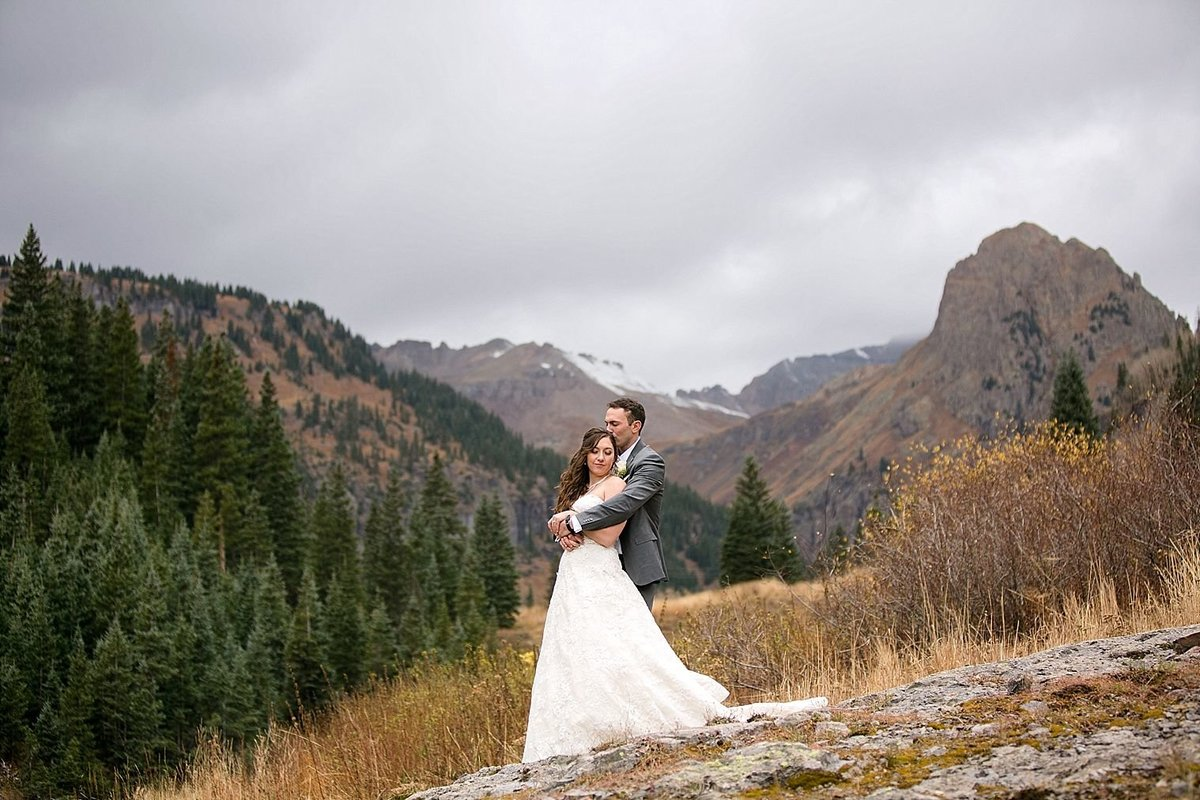 Ouray colorado wedding