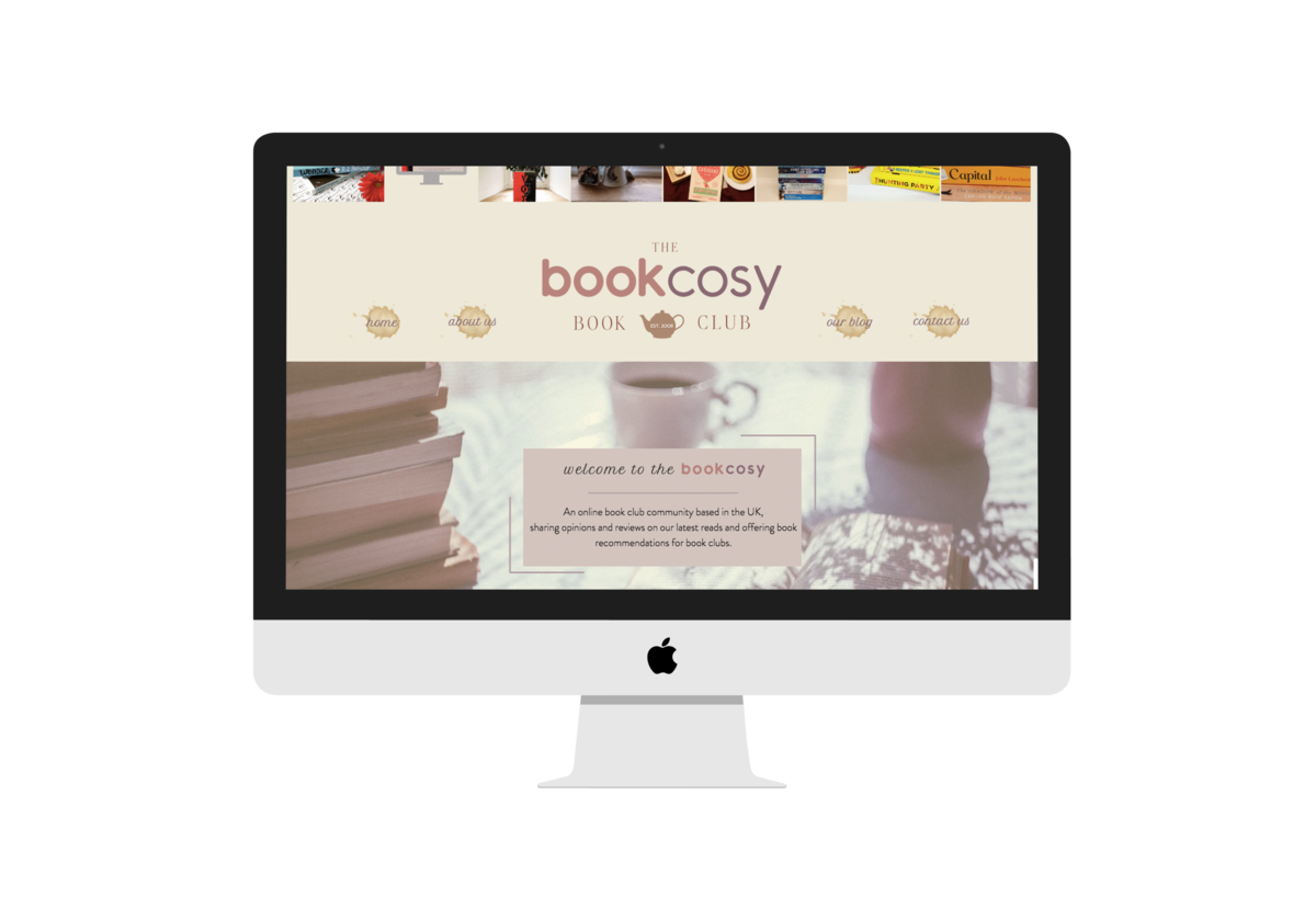 BookCosy Website