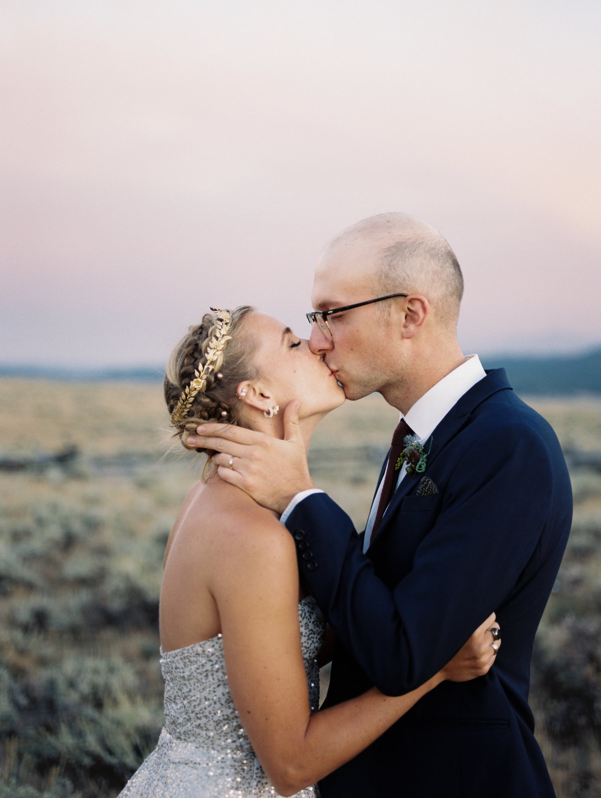 Olive and Alex Wedding_Stanley Idaho 508