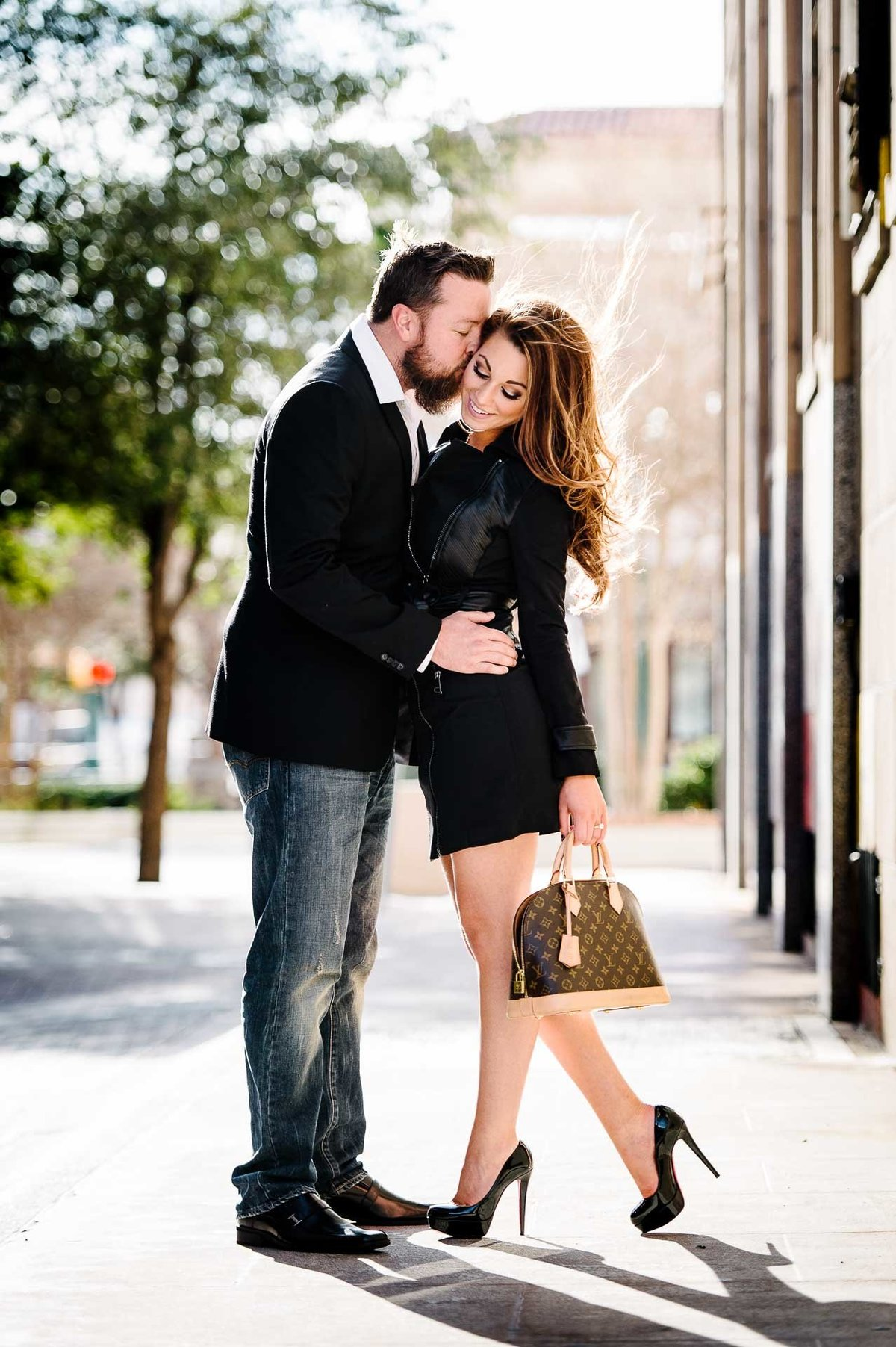engagement photo louis vuitton in el paso texas by stephane lemaire photography