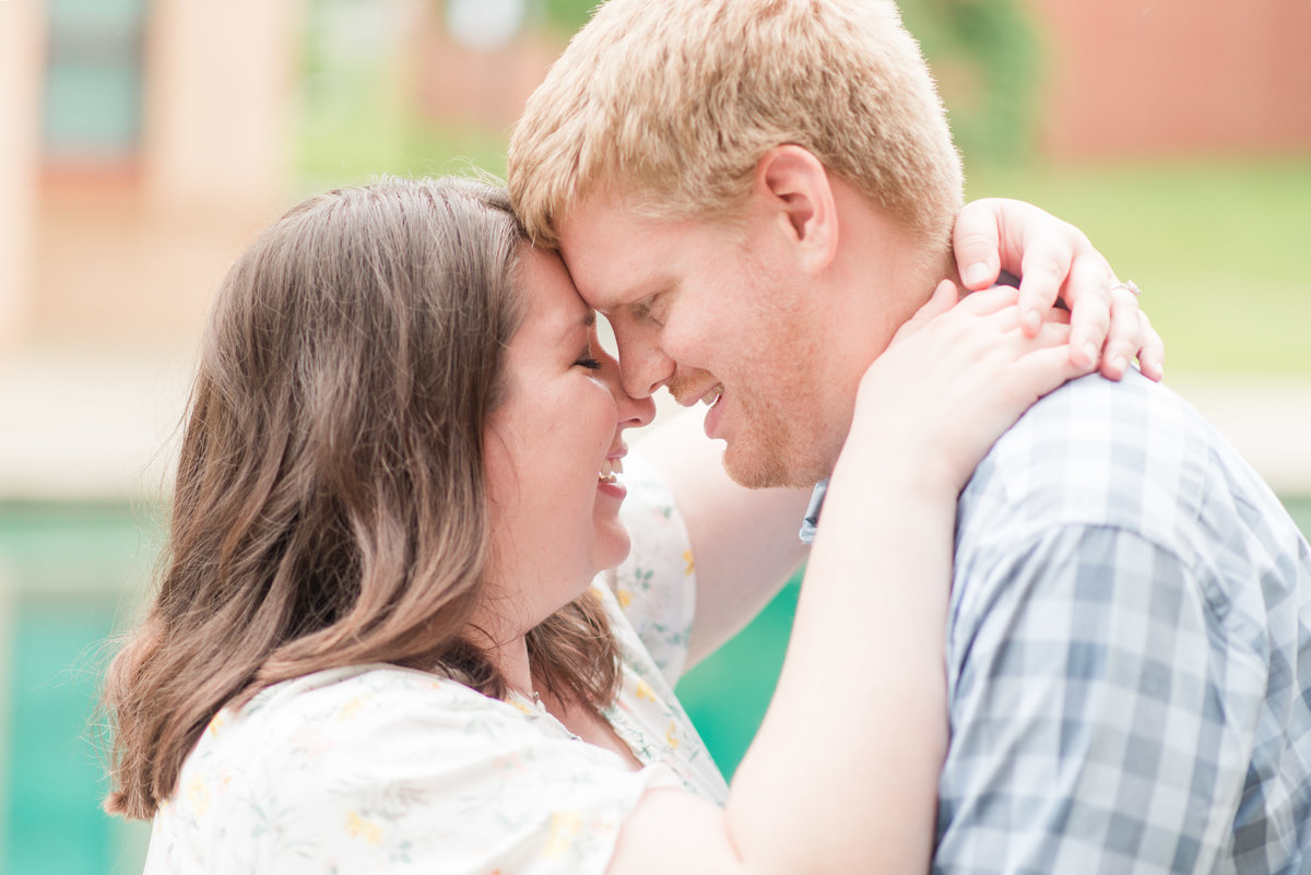 Cait Potter Creative LLC Canal Indianapolis White River State Park Spring Engagement Photos-10