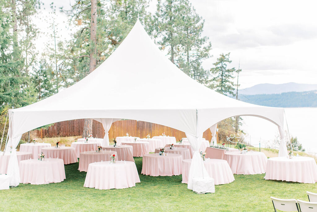 Coeur d'Alene Elk Point Wedding