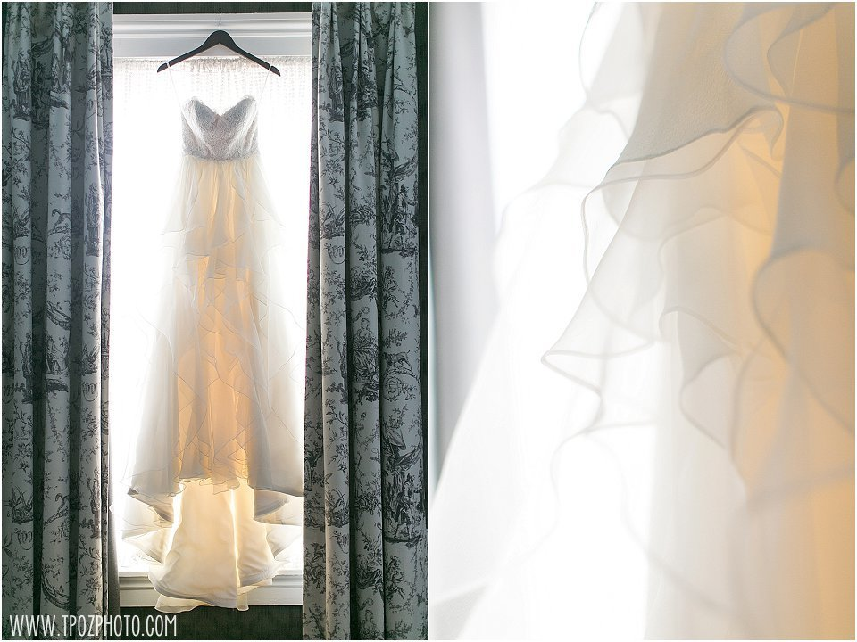 Hayley Paige wedding Gown || tPoz Photography