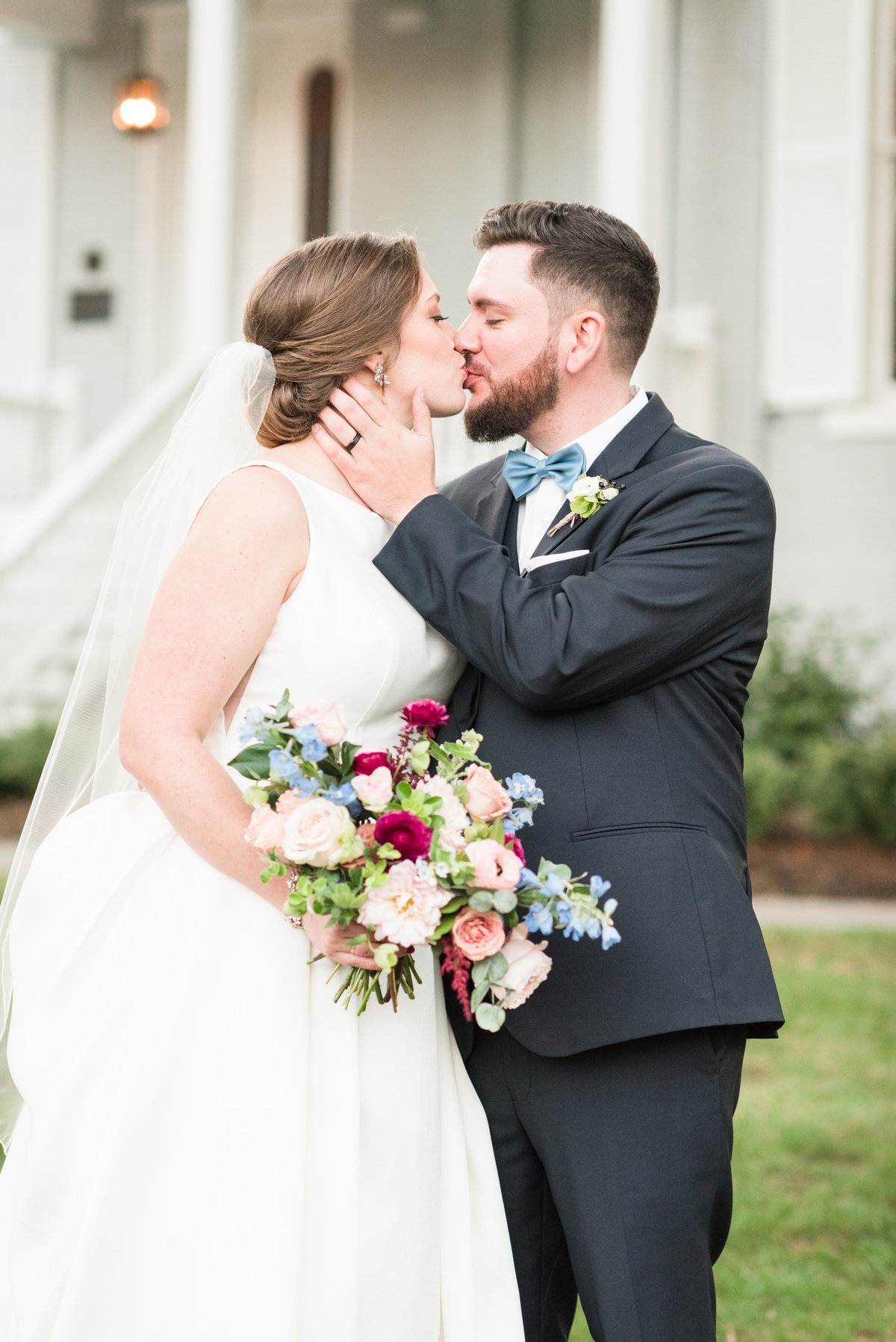 A McAlister Leftwich House Wedding, Michelle & Sara Photography, Greensboro NC24