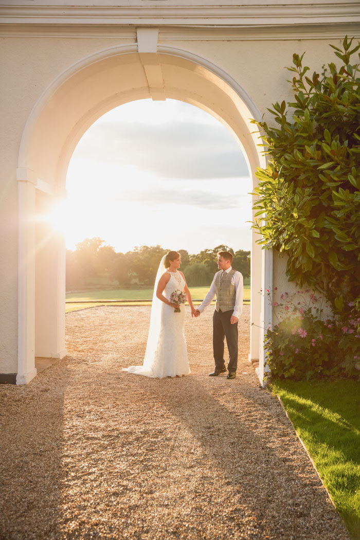 Sunset evening photos at Rockbeare Manor Exeter Devon