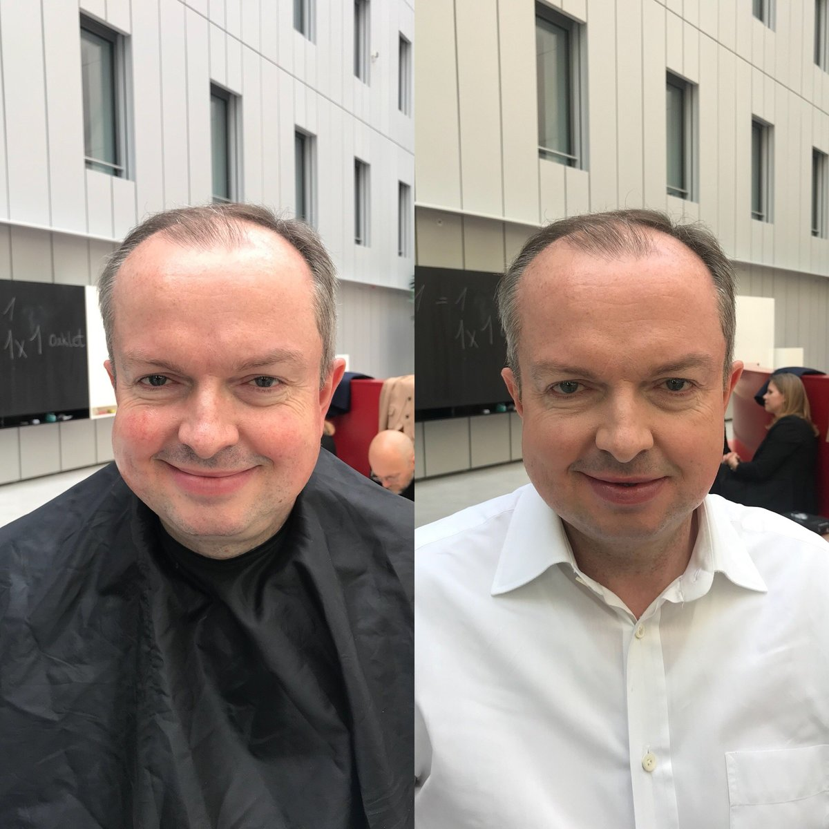 Before and After Male Makeup Natalie Setareh