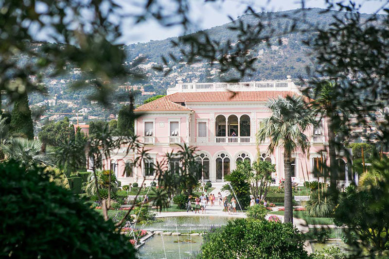 villa ephrussi rothschild wedding6