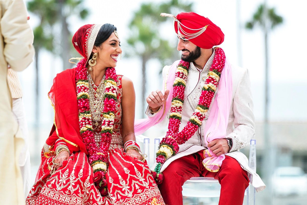 indian bride groom huntington beach wedding photographer