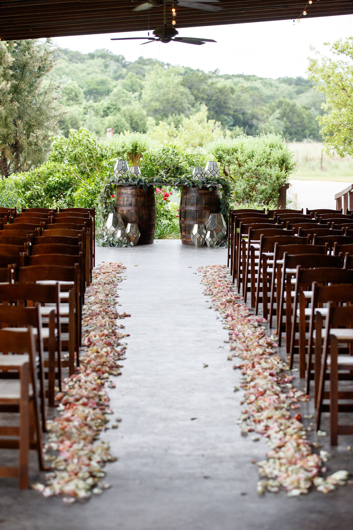 Austin wedding photographer pecan springs ranch wedding photographer patio ceremony