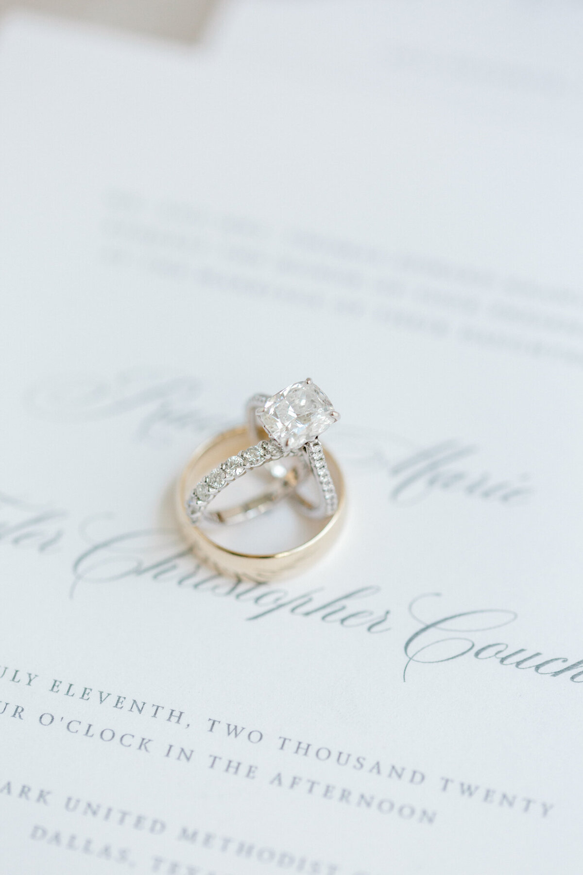 Wedding at the Crescent Court Hotel and Highland Park United Methodist Church in Dallas | Sami Kathryn Photography | DFW Wedding Photographer-7