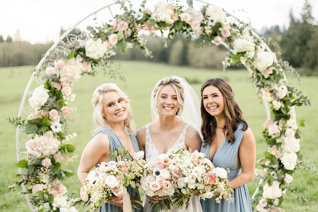 Seattle Wedding Bridesmaid Photo