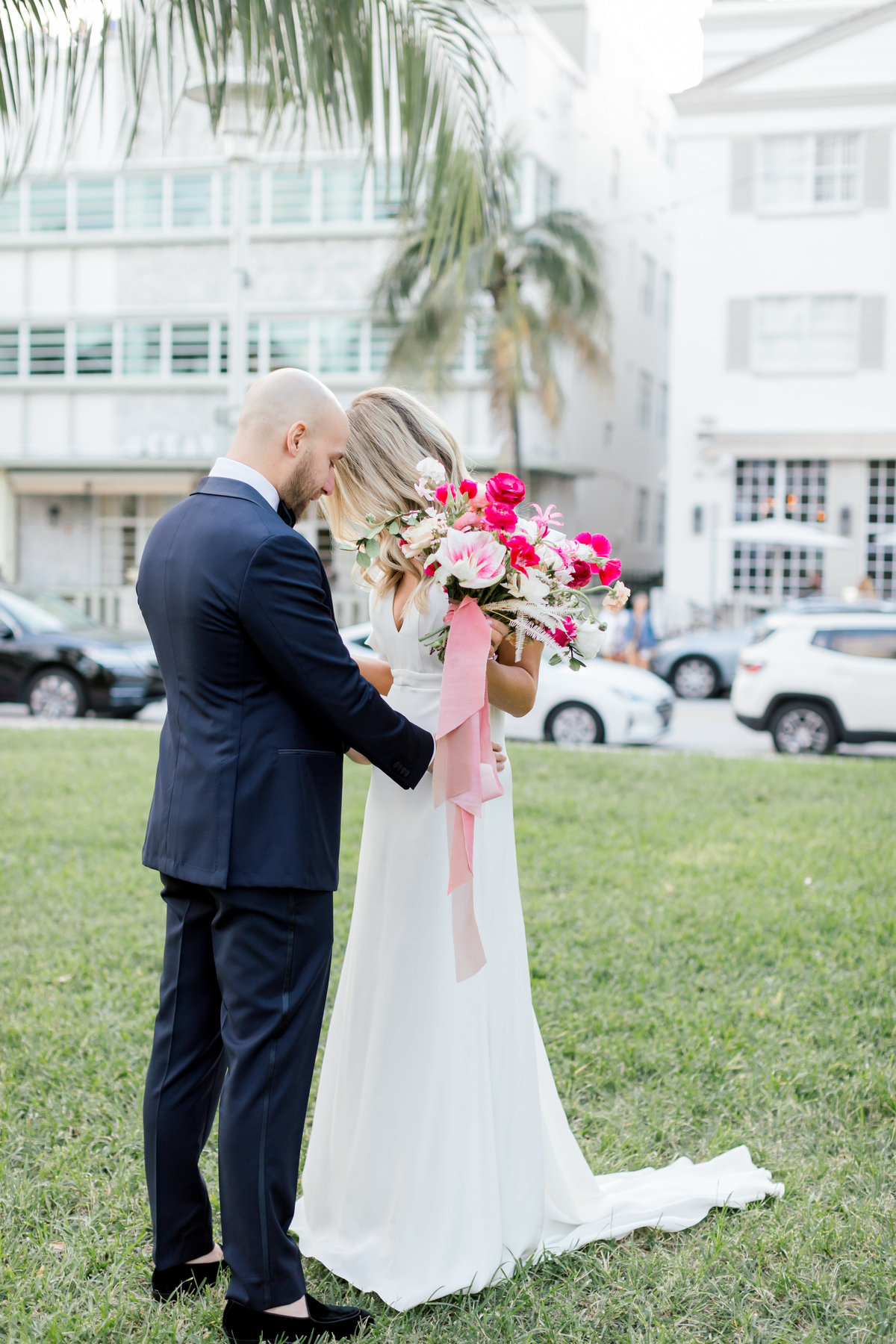 Florida Bride & Groom First look
