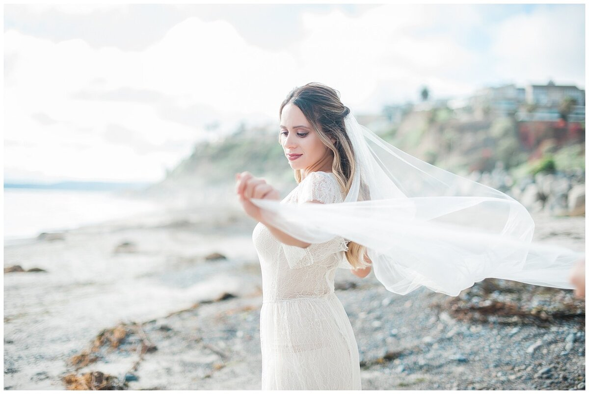 san clemente beach wedding elopement whimsical dreamy soft light socal photo018