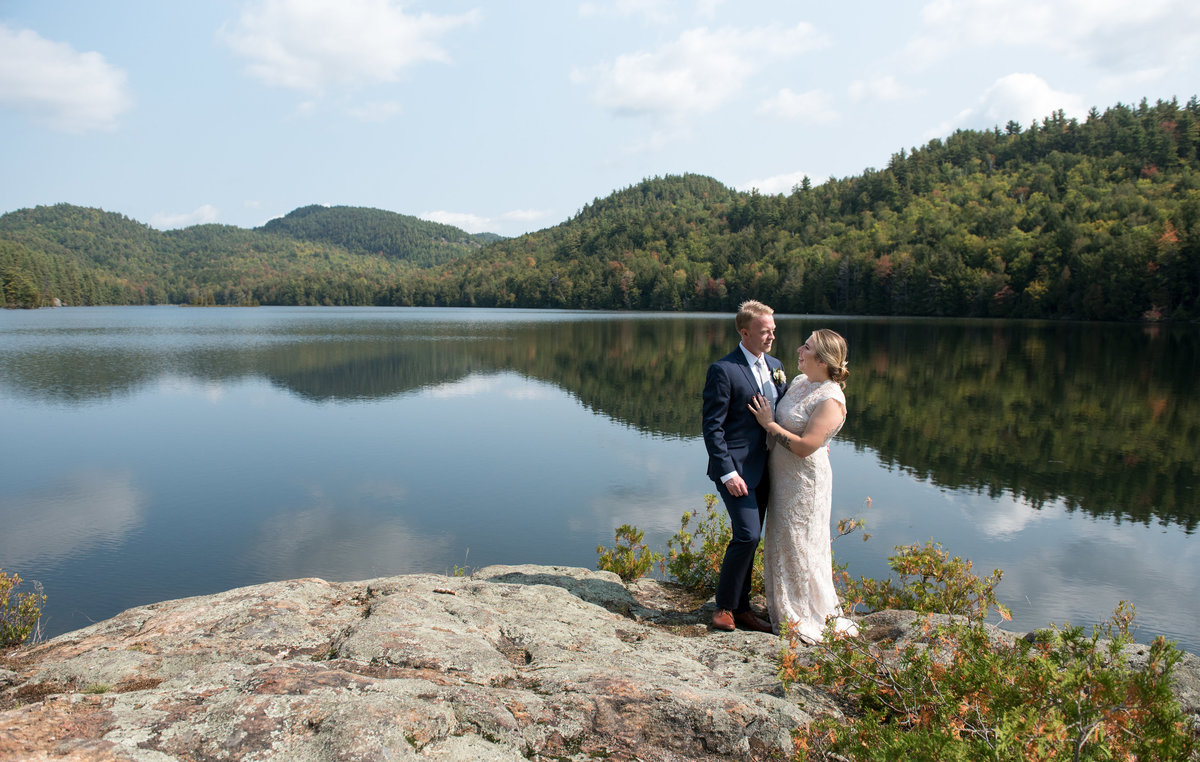 Private Adirondack Club Wedding