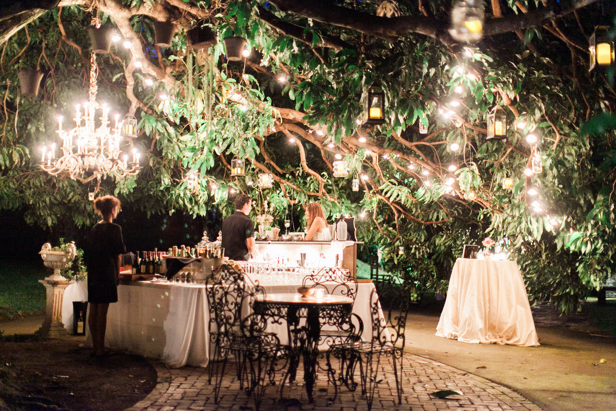 European Style Night Wedding Reception