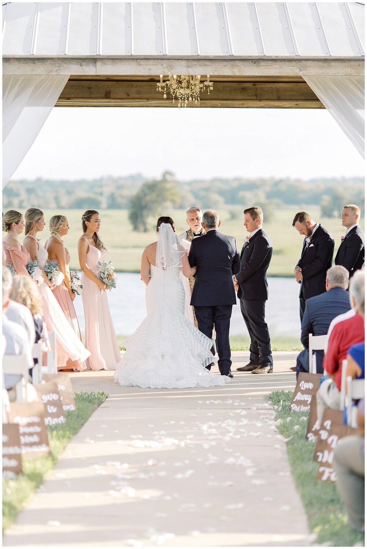 Vintage Blush Inspired Wedding at Emery's Buffalo Creek - Houston Wedding Venue_0096