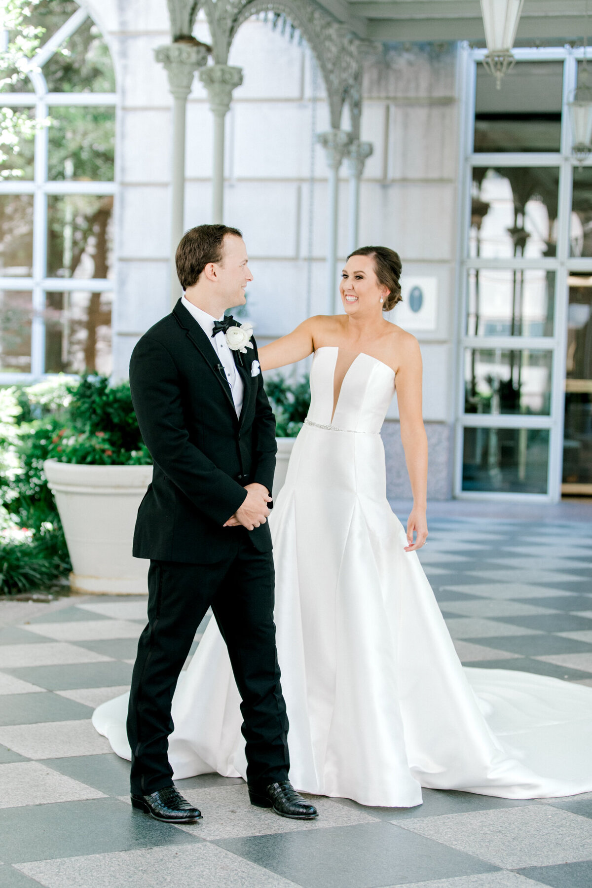 Wedding at the Crescent Court Hotel and Highland Park United Methodist Church in Dallas | Sami Kathryn Photography | DFW Wedding Photographer-50