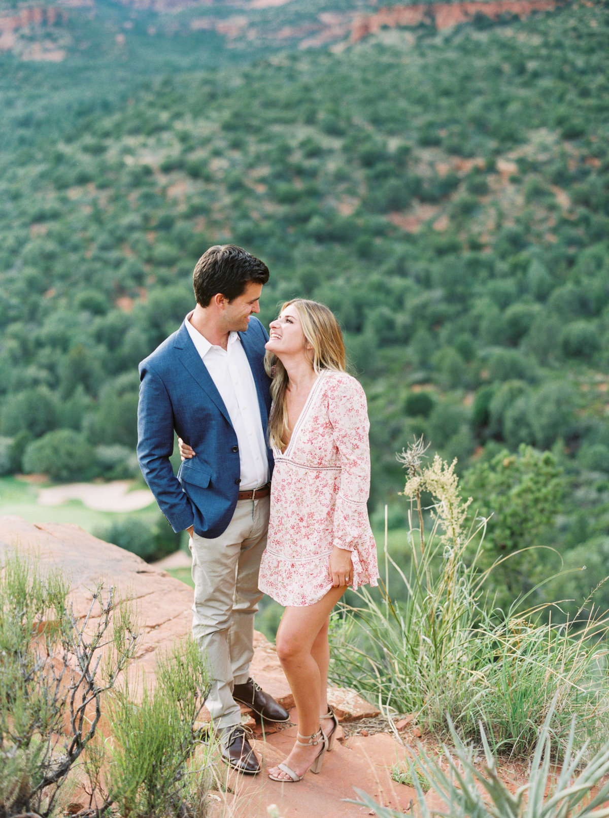 Sedona Arizona Engagement Session - Mary Claire Photography-3