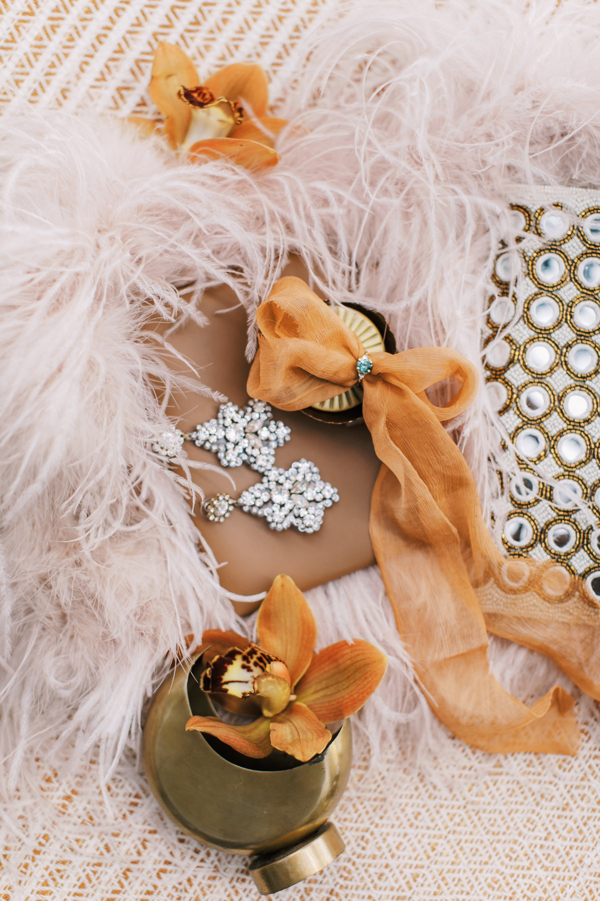 Magdalena Studios Bohemian Stylish and Chic Fall Wedding at Terrain Anthropologie_2