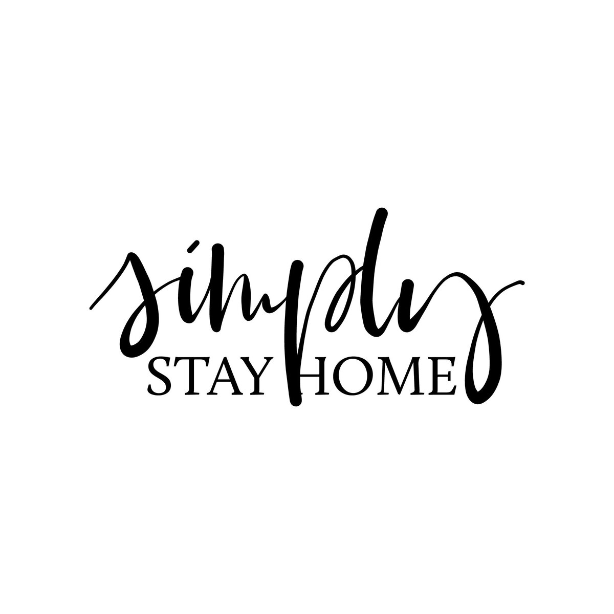 Simply Stay Home-01