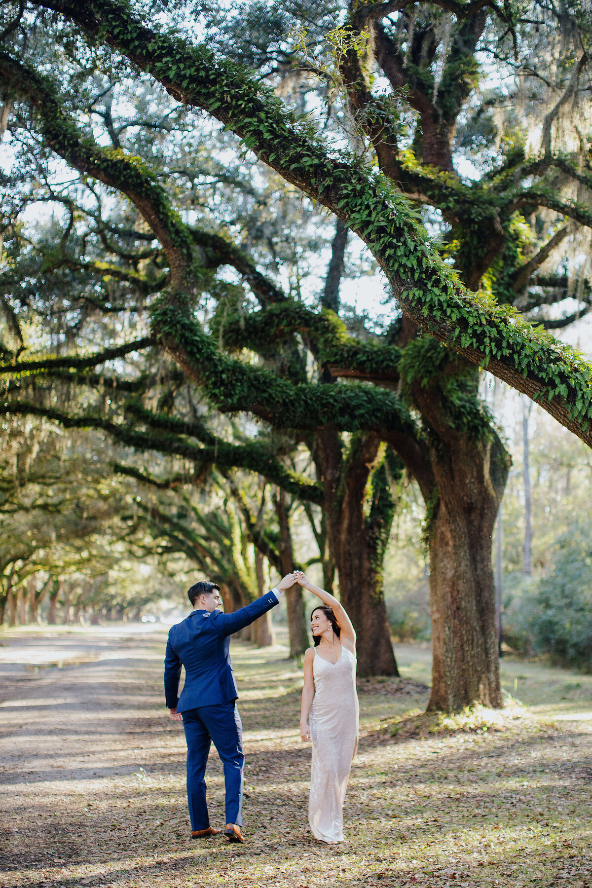 Wormsloe Engagement Session by Izzy and Co.