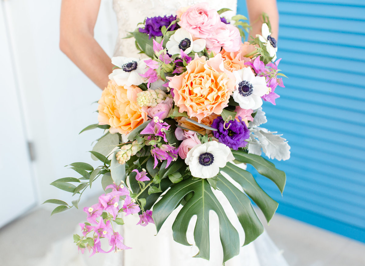 Tropical Bride's Bouquet