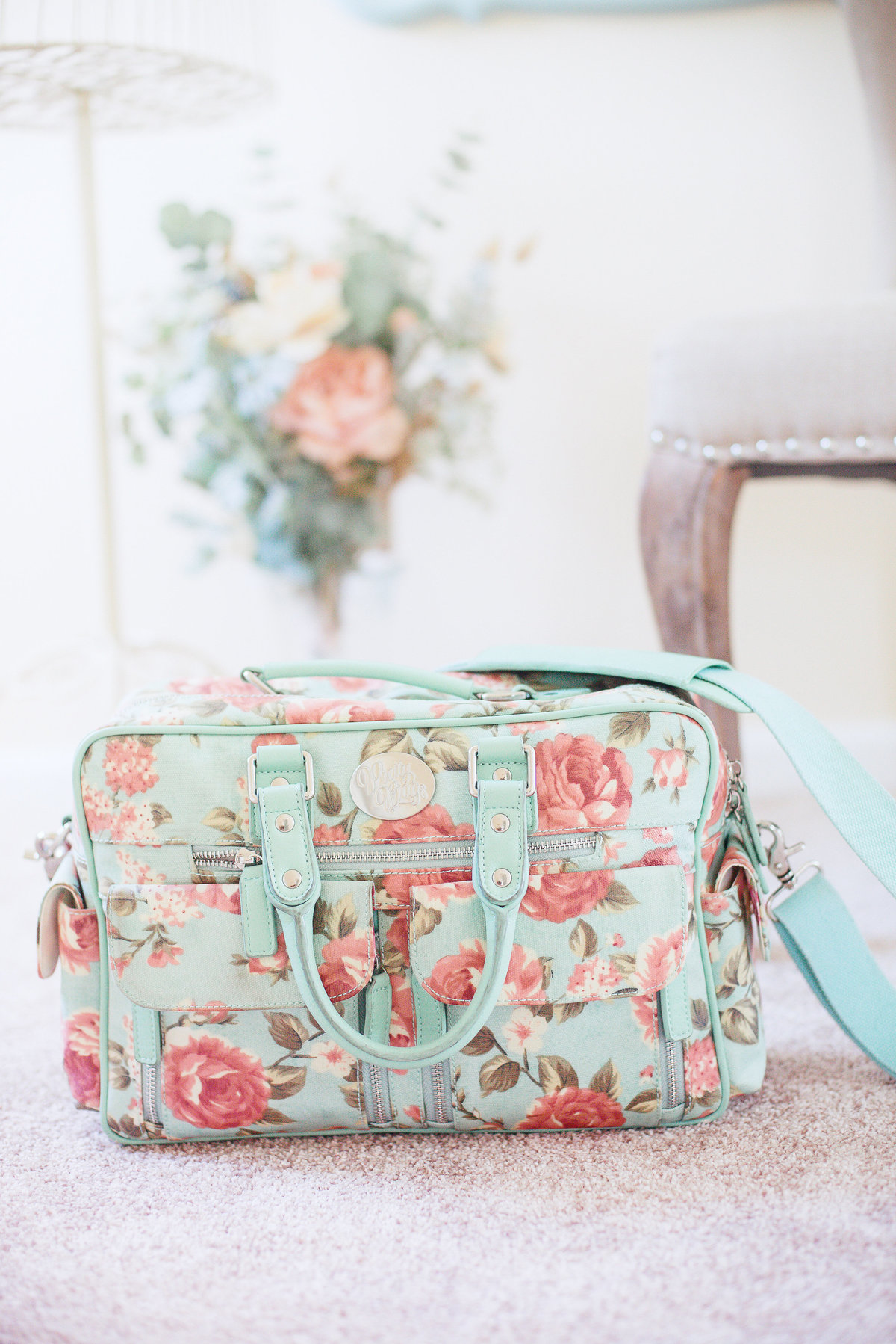 Floral camera bag by Pretty Bags