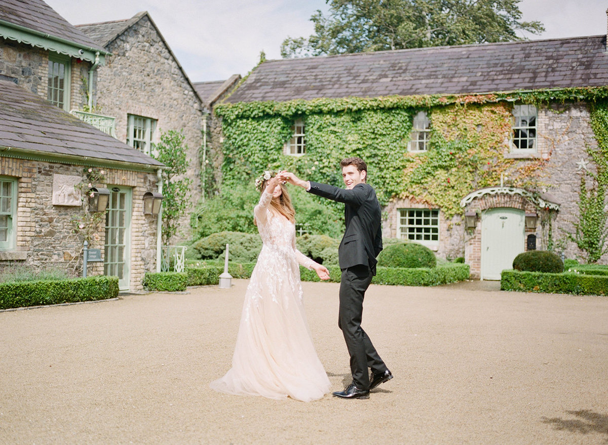 Destination Wedding Photographer - Ireland Editorial - Cliff at Lyons Kildare Ireland - Sarah Sunstrom Photography - 42