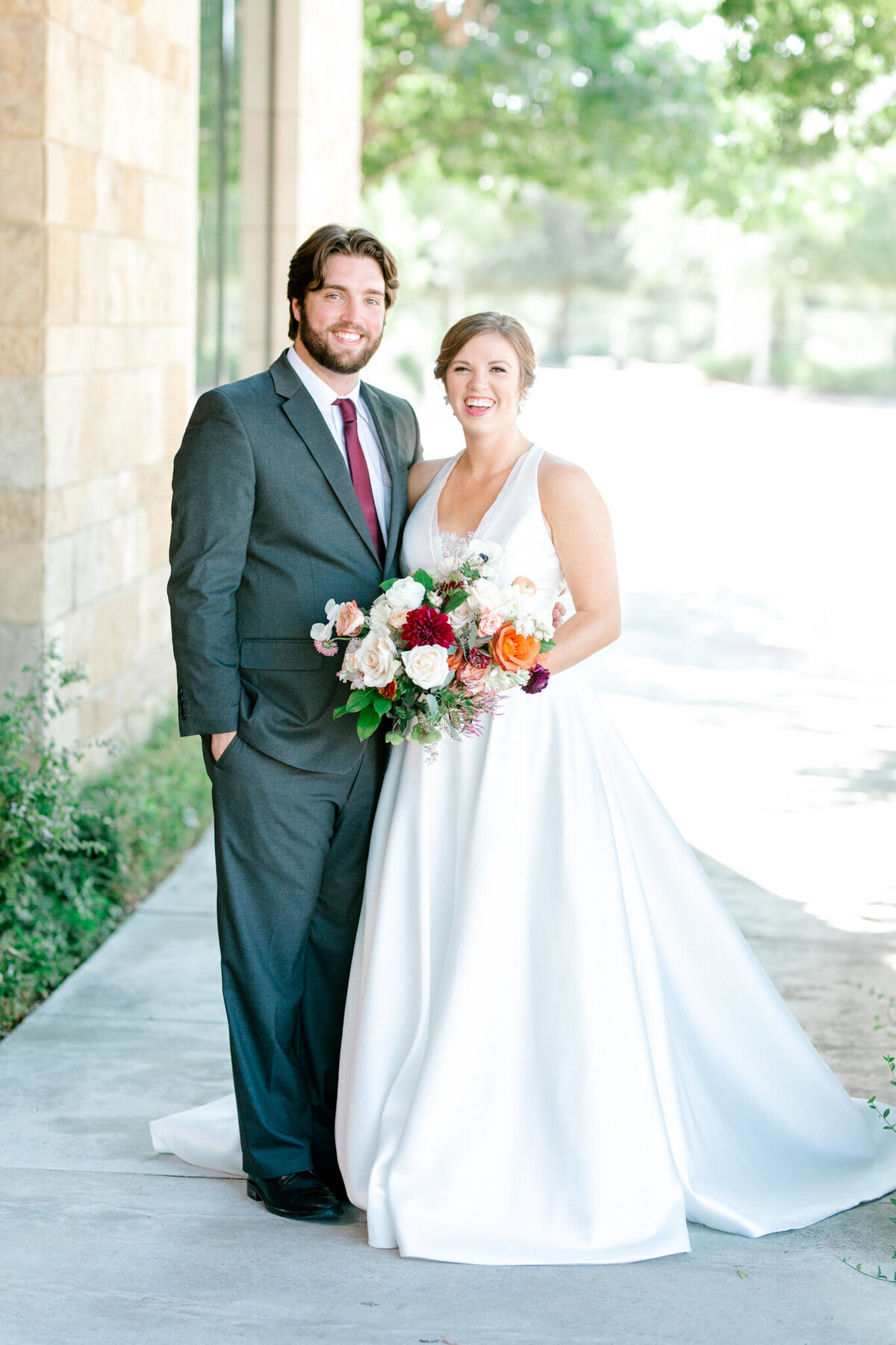 Kaylee & Michael's Wedding at Watermark Community Church | Dallas Wedding Photographer | Sami Kathryn Photography-1