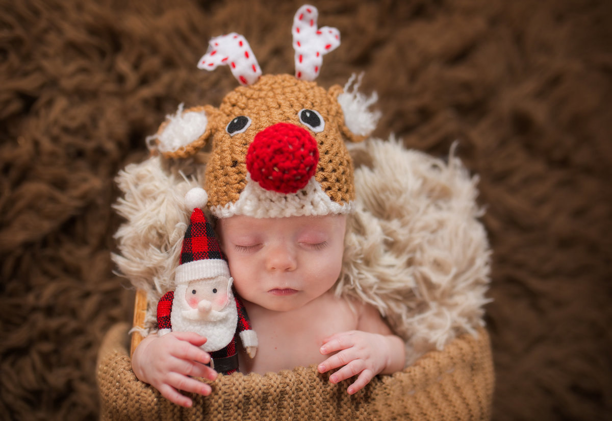 christmas newborn photographer ideas