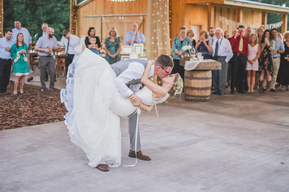 Barn Wedding Dance
