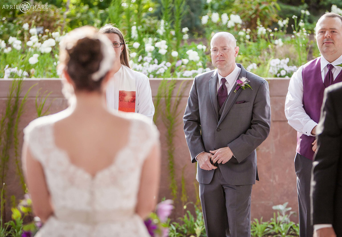 Emotional Colorado Wedding Photography at Denver Botanic Gardens