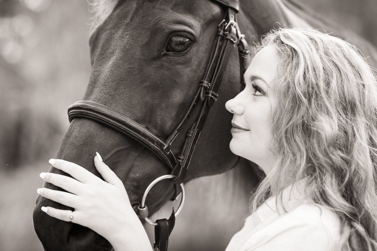 Ormond Beach equestrian photography