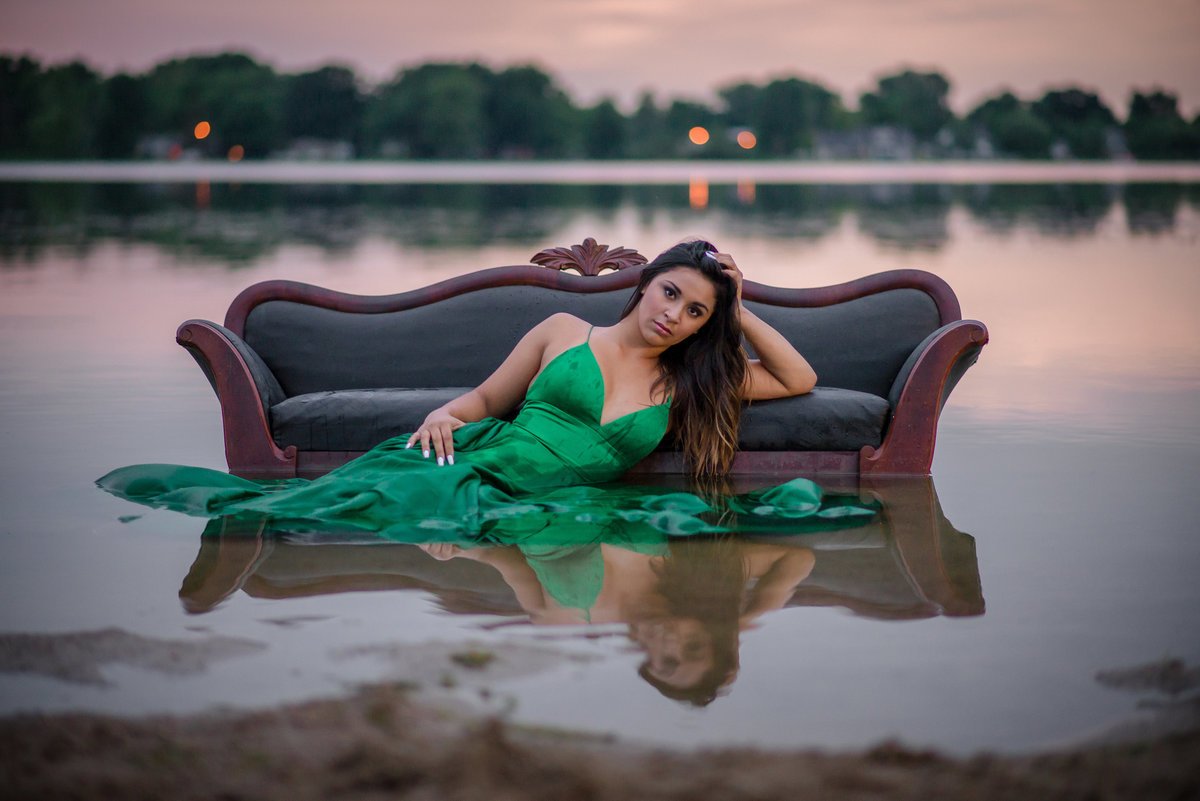 Senior Session in Lake