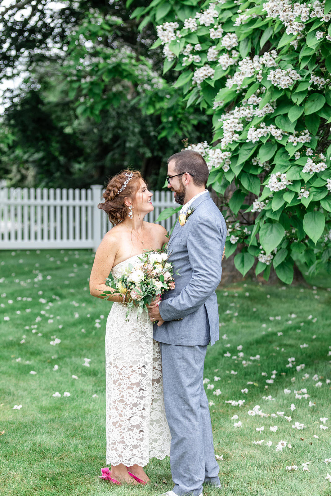 Sharon and Sam Private Family Residence Wedding By Halie-7085