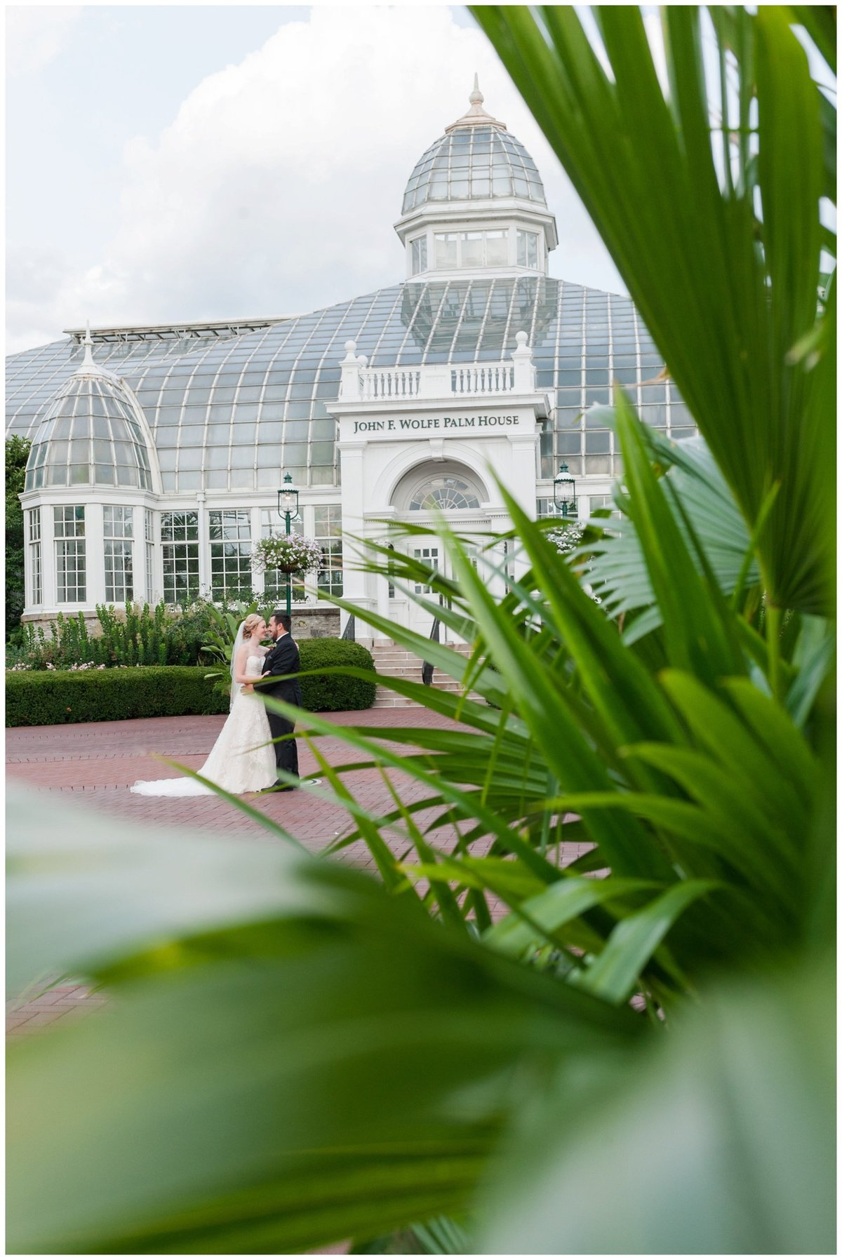 Franklin Park Conservatory Wedding The Palm House Bridal Garden Grove_0102