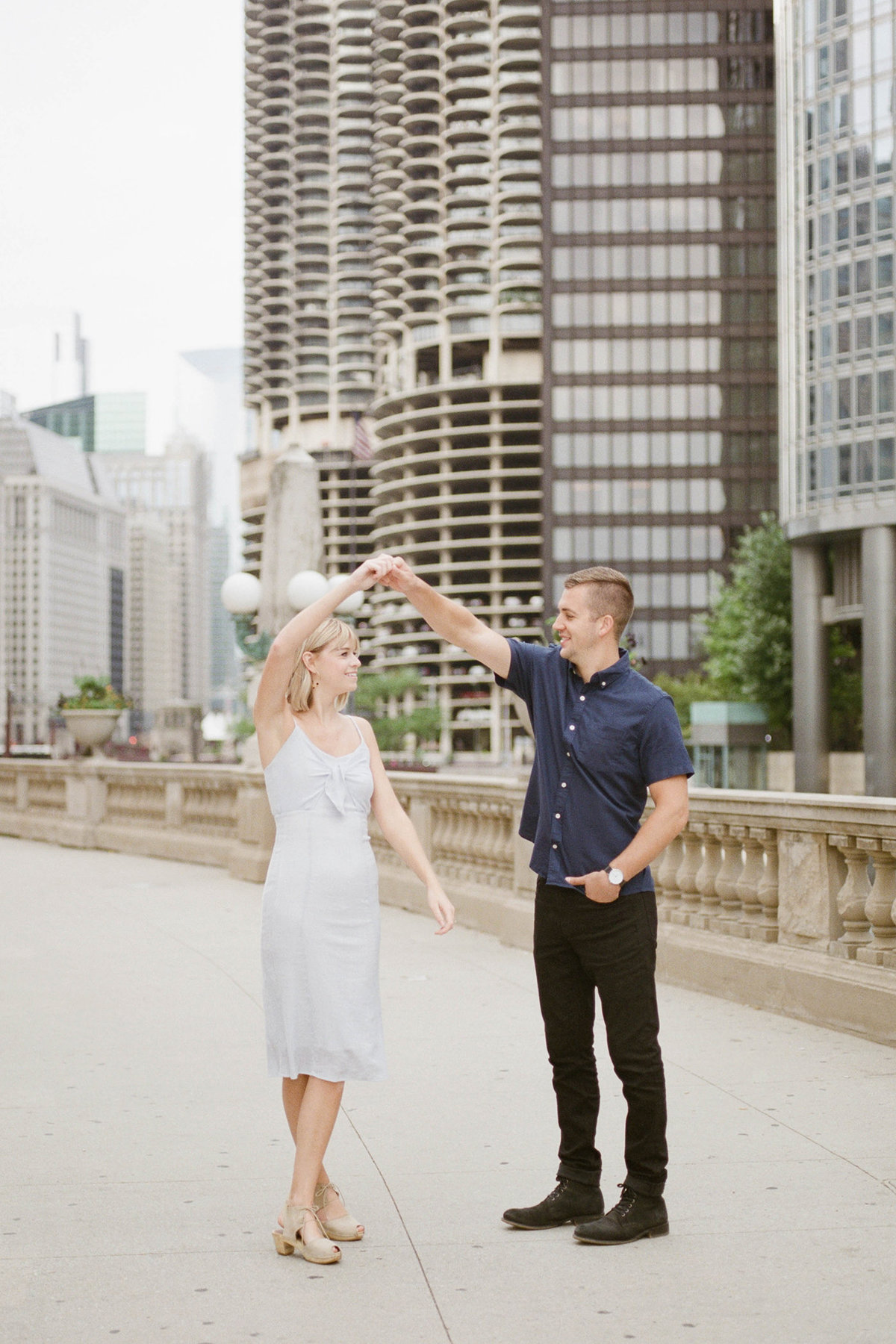 Chicago Wedding Photographer - Fine Art Film Photographer - Sarah Sunstrom - Sam + Morgan - Engagement Session - 32