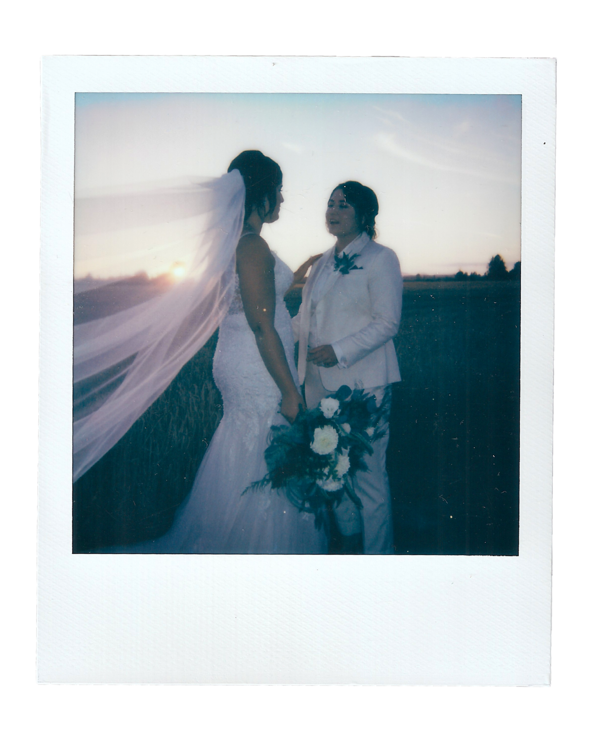 Becca + Katie | The Saltbox Barn - Fir Island, WA | Polaroids00006
