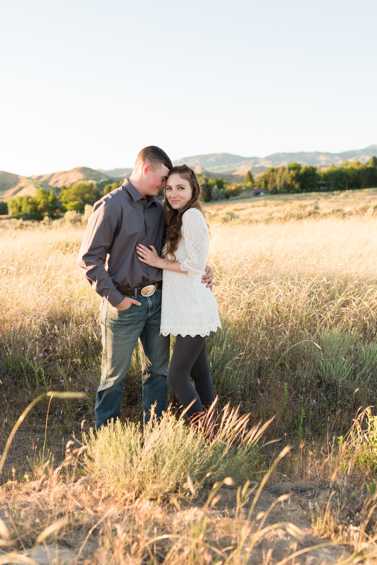 Spring Boise Foothills Engagement Shoot02