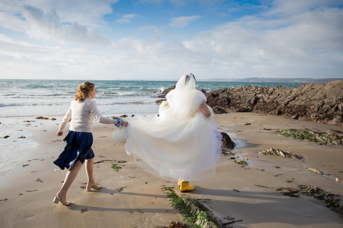 whitsand bay wedding cornwall