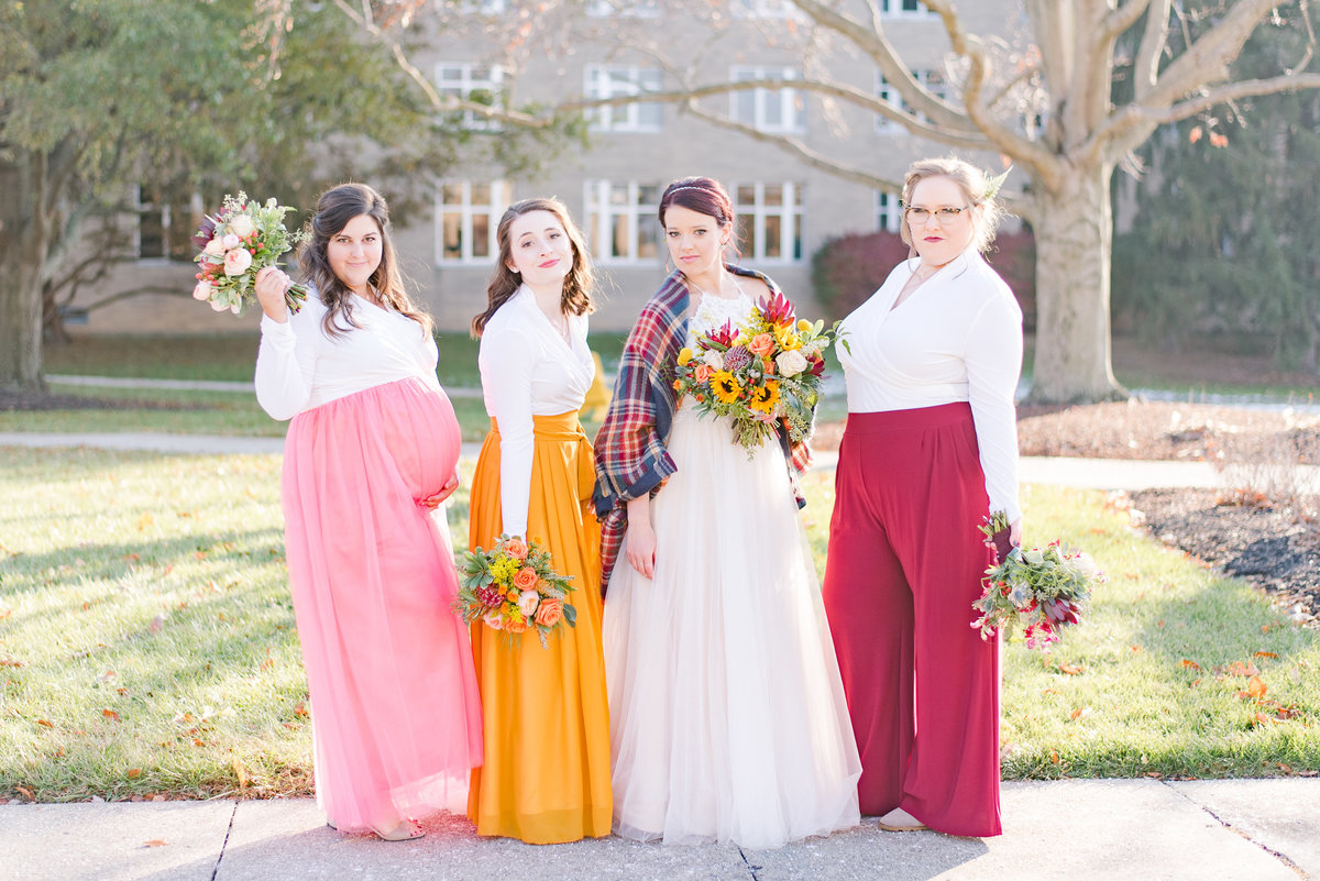 Urban Artifact Brewery Colorful Fall Wedding-131