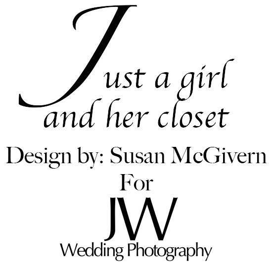 Just a girl and her closet Susan Logo