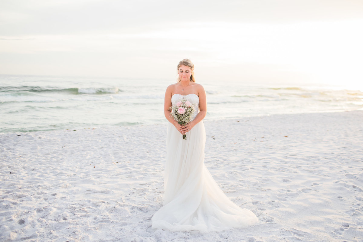 Miramar Beach Wedding Bridal Portratis