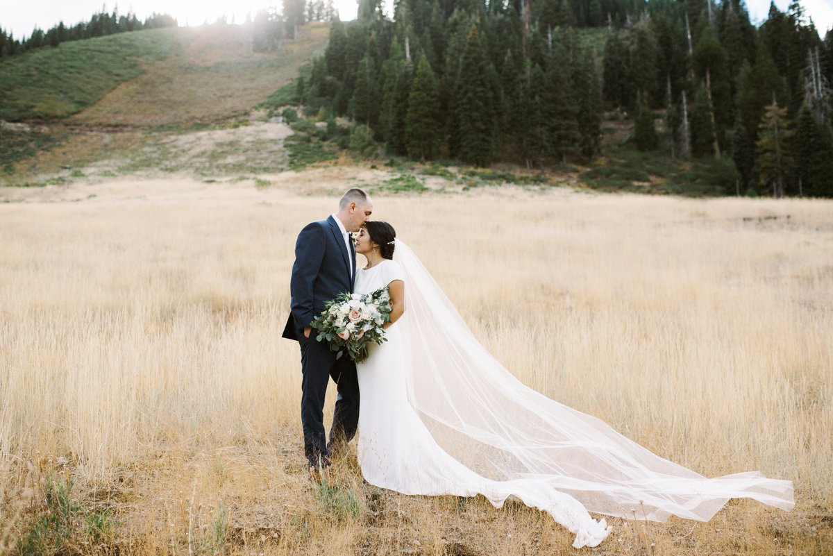Soft Romantic Tahoe Wedding