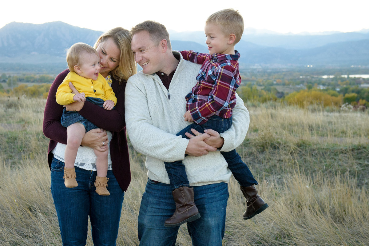 Family Photos at Davidson Mesa