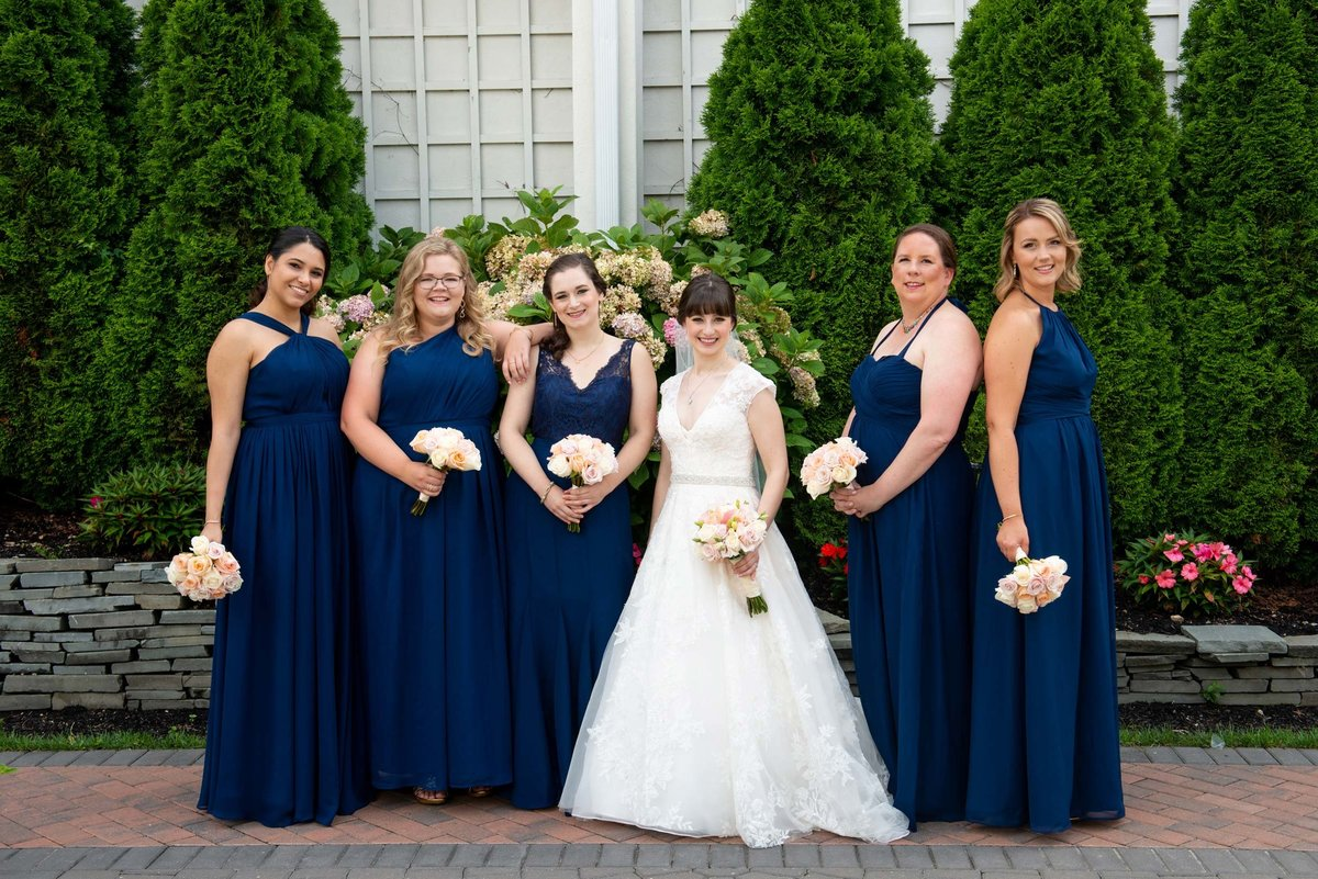 Bridesmaids photo from Fox Hollow