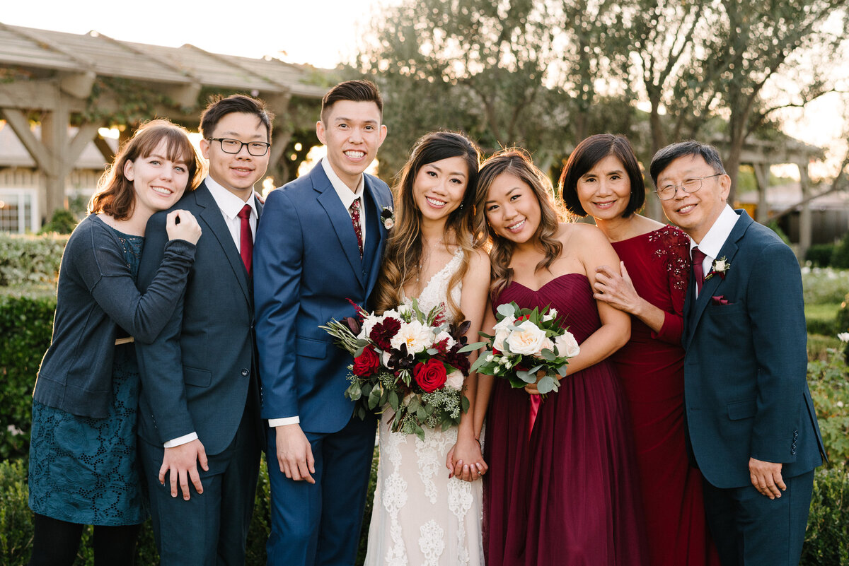 Ponte Winery Wedding Family Photos_San Diego Wedding Photographer