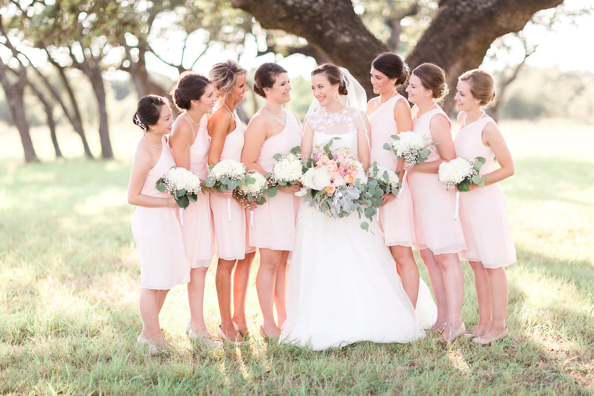 Kairos Celebration Barn Wedding Bridal Party