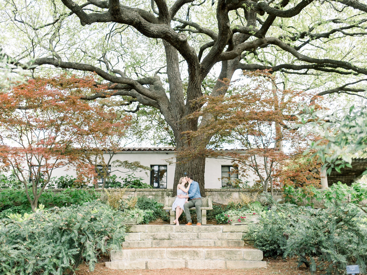 Courtney Hanson Photography - Dallas Spring Engagement Photos at Dallas Arboretum-2641