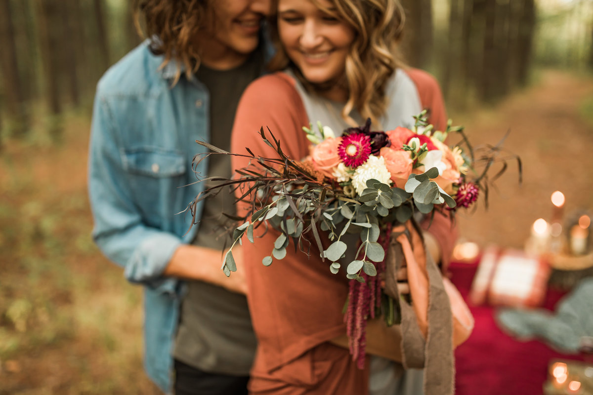 Busch Wildlife  Defiance, MO  Fall Picnic Colorado Themed Surpise Proposal  Cameron + Mikayla  Allison Slater Photography319